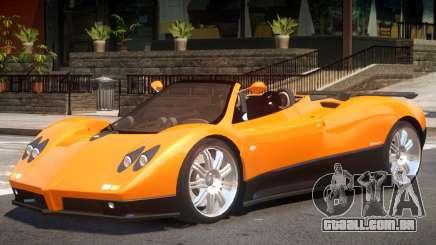 Pagani Zonda Spider para GTA 4