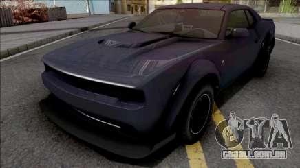 GTA V Bravado Gauntlet Hellfire Purple para GTA San Andreas