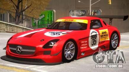 Mercedes Benz SLS GT3 V1 PJ1 para GTA 4