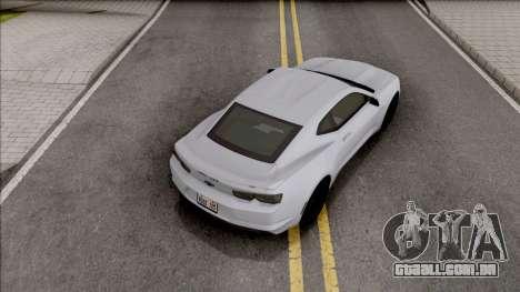 Chevrolet Camaro SS 2020 para GTA San Andreas