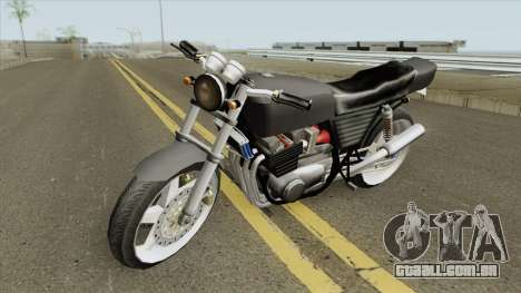 Kawasaki Z400 FX Custom LQ para GTA San Andreas