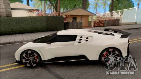 Bugatti Centodieci EB110 2020 Leaderboard para GTA San Andreas