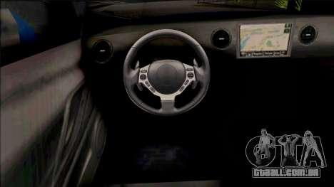 Nissan GT-R R35 2016 45th Anniversary SA Style para GTA San Andreas