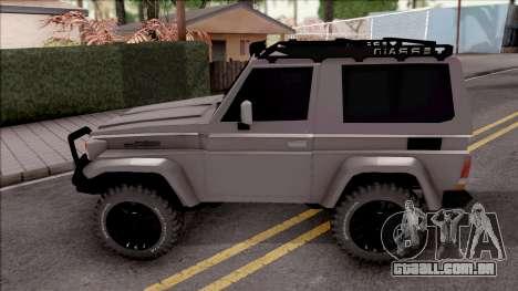 Toyota Land Cruiser 4x4 Off-Road para GTA San Andreas