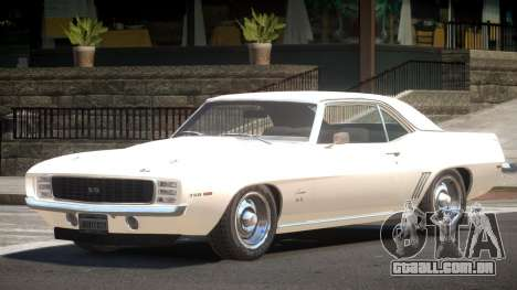 1967 Camaro 350 para GTA 4