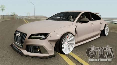 Audi RS7 Sportback X-UK 2013 para GTA San Andreas