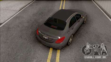 Mercedes-AMG E63 2018 Lowpoly para GTA San Andreas