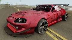 Toyota Supra (Rocket Bunny Pandem) para GTA San Andreas