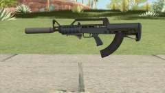 Bullpup Rifle (Two Upgrades V4) Old Gen GTA V para GTA San Andreas