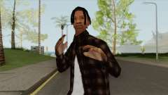 Travis Scott (SA Style) para GTA San Andreas