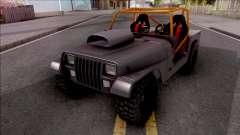 Jeep Wrangler Sand Drag para GTA San Andreas