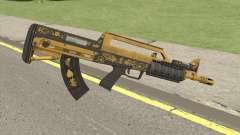 Bullpup Rifle (Flashlight V1) Main Tint GTA V para GTA San Andreas