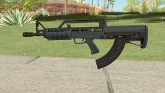 Bullpup Rifle (Base V2) Old Gen Tint GTA V para GTA San Andreas