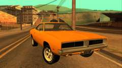 Dodge Charger RT 1969 Orange para GTA San Andreas