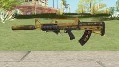 Bullpup Rifle (Two Upgrades V5) Main Tint GTA V para GTA San Andreas