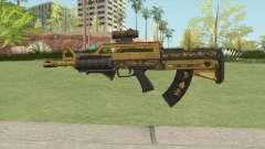 Bullpup Rifle (Three Upgrade V1) Main Tint GTA V para GTA San Andreas