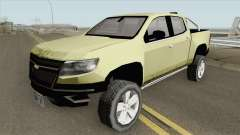 Chevrolet Colorado Z71 2019 para GTA San Andreas