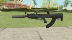 Bullpup Rifle (Three Upgrades V8) Old Gen GTA V para GTA San Andreas