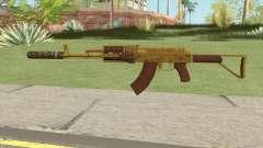 Assault Rifle GTA V Suppressor (Default Clip) para GTA San Andreas