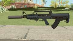 Bullpup Rifle (Two Upgrades V3) Old Gen GTA V para GTA San Andreas