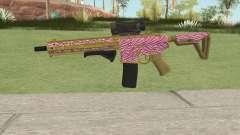 Carbine Rifle GTA V (Zebra Rosa) para GTA San Andreas