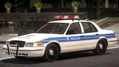 Ford Crown Victoria Police Unit para GTA 4