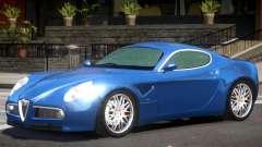 Alfa Romeo 8C GT para GTA 4
