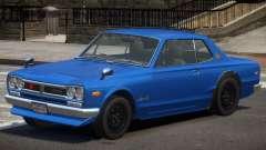 Nissan Skyline 2000 GT V1.0 para GTA 4