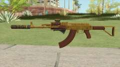 Assault Rifle GTA V (Complete Upgrade V2) para GTA San Andreas