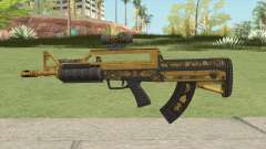Bullpup Rifle (Two Upgrades V3) Main Tint GTA V para GTA San Andreas