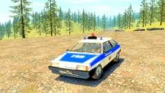 VAZ 2108 GAI para GTA 4