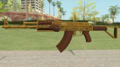 Assault Rifle GTA V Flashlight (Default Clip) para GTA San Andreas