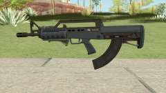 Bullpup Rifle (Two Upgrades V2) Old Gen GTA V para GTA San Andreas