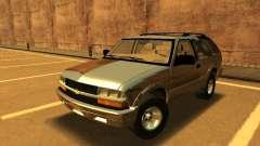 Chevrolet Blazer 2001 V1 para GTA San Andreas