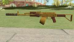 Assault Rifle GTA V Suppressor (Box Clip) para GTA San Andreas