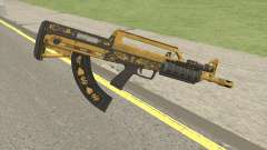 Bullpup Rifle (Flashlight V2) Main Tint GTA V para GTA San Andreas