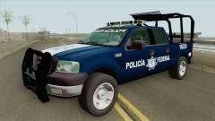 Ford F-150 2008 (Policia Federal) para GTA San Andreas