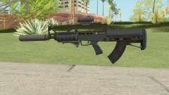 Bullpup Rifle (Three Upgrades V3) Old Gen GTA V para GTA San Andreas
