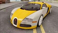 Bugatti Veyron HQ Interior para GTA San Andreas