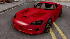Dodge Viper SRT-10 Low Poly para GTA San Andreas