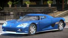 Koenigsegg CCX Y11 para GTA 4