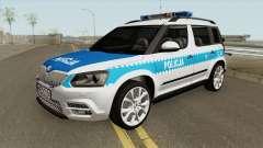 Skoda Yeti (Policja KSP)