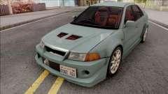 Mitsubishi Lancer GSR Evolution VI 1999 v2 para GTA San Andreas