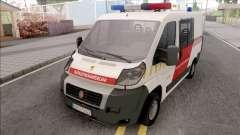 Fiat Ducato Katasztrofavedelem