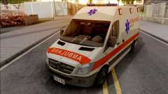 Mercedes-Benz Sprinter Ambulans Hitna Pomoc para GTA San Andreas