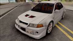 Mitsubishi Lancer GSR Evolution VI 1999 para GTA San Andreas