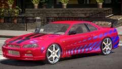 Skyline GT-R34 V1 PJ