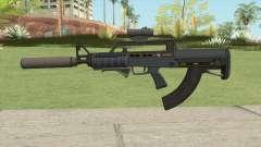 Bullpup Rifle (Three Upgrades V4) Old Gen GTA V para GTA San Andreas