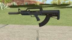 Bullpup Rifle (Two Upgrades V8) Old Gen GTA V para GTA San Andreas