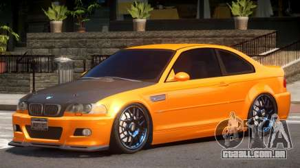 BMW M3 Tuning V1.1 para GTA 4
